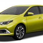 オーリス新型(トヨタ)がフルモデルチェンジで燃費や安全性能は?ライバル車比較!